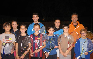 groupe ecole de tennis 2015/2016